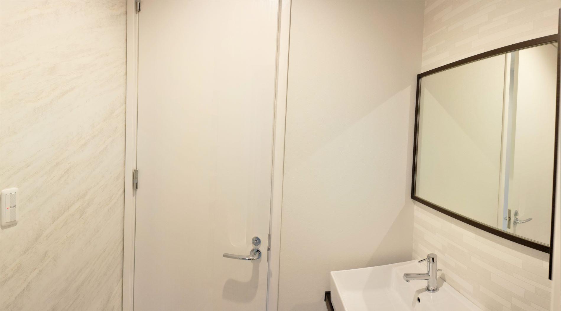 Web内覧会④ お風呂横洗面スペース