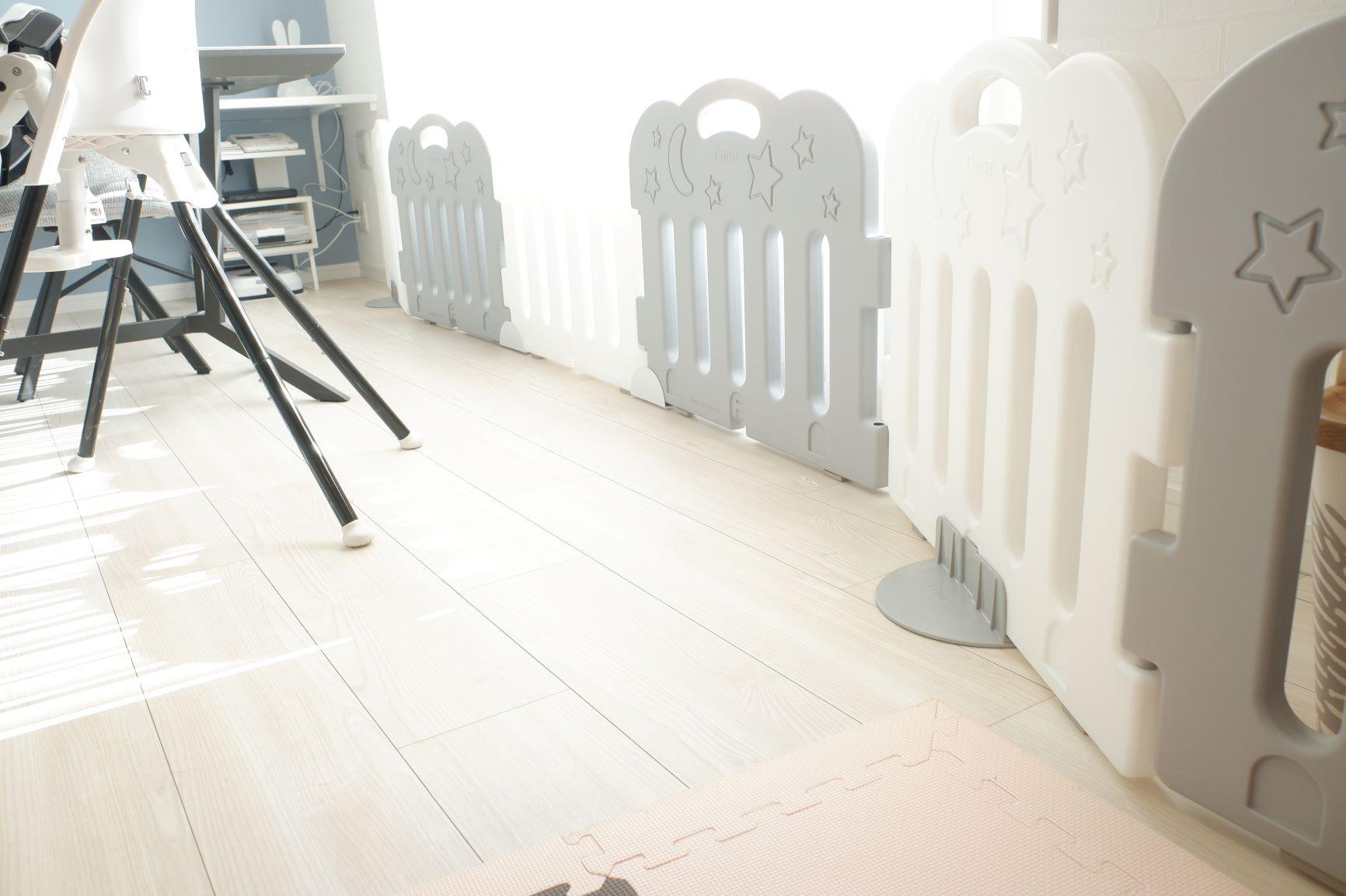 ベビーサークル・ベビーゲートは変幻自在のCarazがおすすめ♪おしゃれな空間を作っちゃおう!